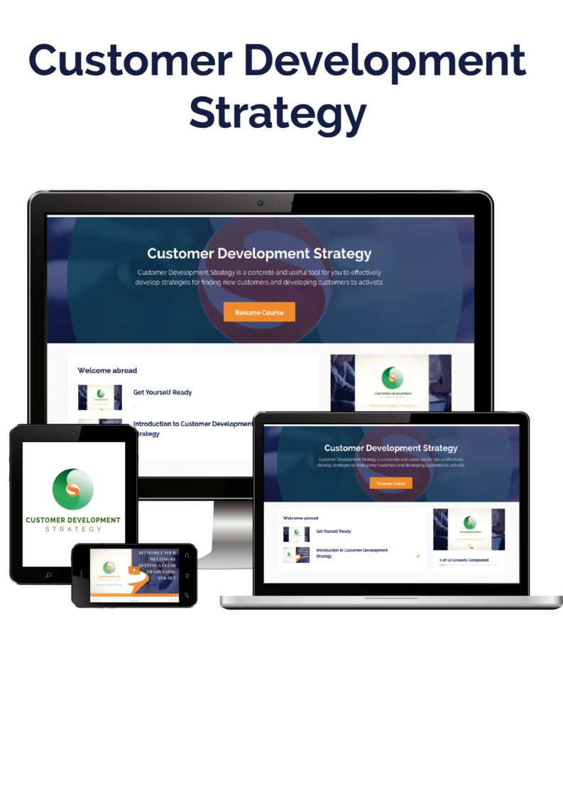 Customer Development Strategy Online